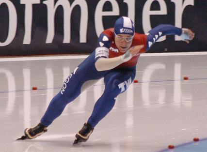 picture of speed skater