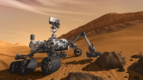 are aliens real mars rover curiosity
