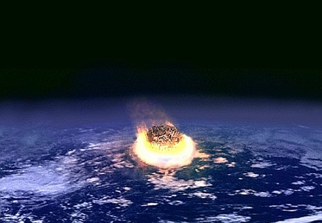 asteroid impact picture