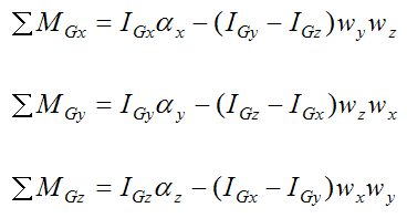 Moment equations for Eulers disk