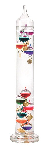 picture of galileo thermometer