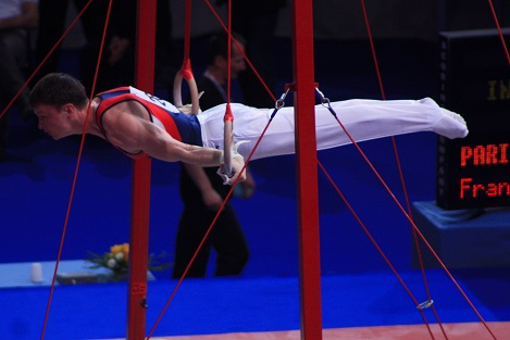 physics of gymnastics The science of gymnastics (sports science) [katie kawa] on amazoncom  free shipping on qualifying offers explains the mathematics, physics, and  other.