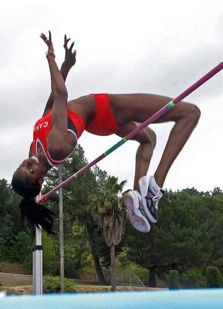 high jump picture