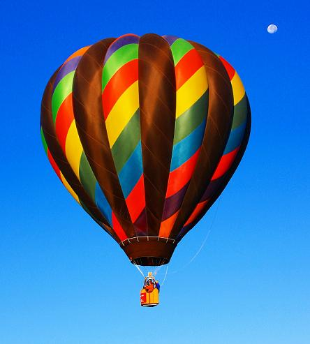 picture of hot air balloon