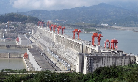 3 gorges dam hydro generating station picture