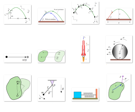 thumbnail view of kinematics and dynamics diagrams 3