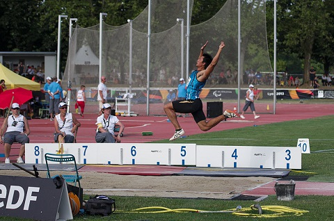 long jump picture