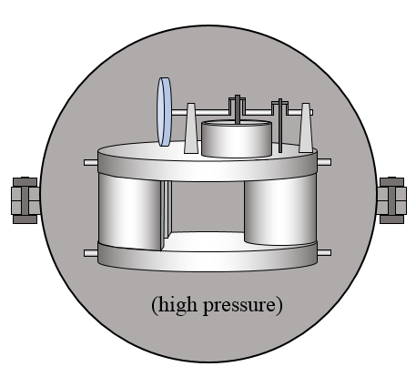 low temperature stirling engine pressure vessel