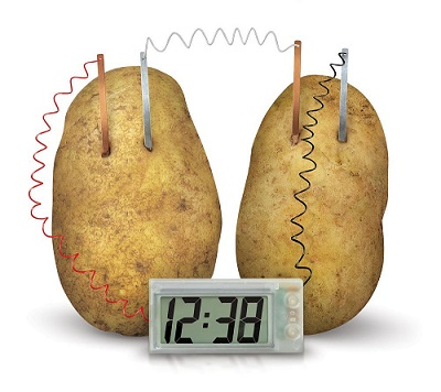 picture of potato clock