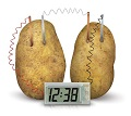 small picture of potato clock