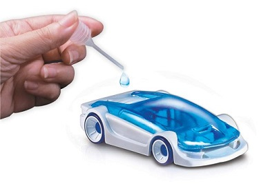 picture of salt water fuel cell car