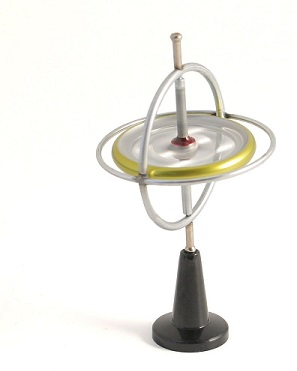 picture of a toy gyroscope