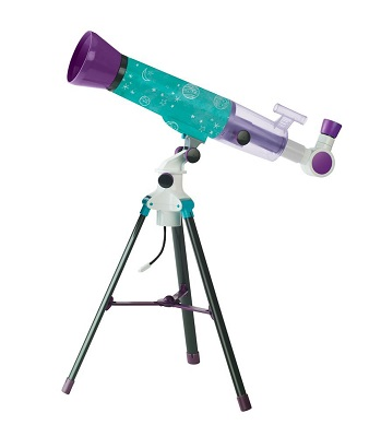 picture of a toy telescope