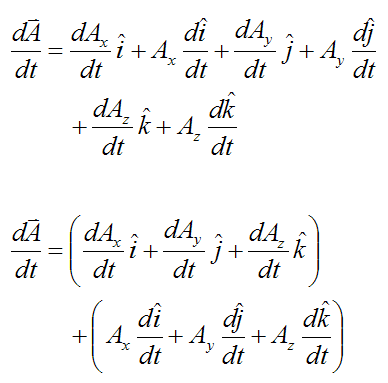 General vector derivative 4