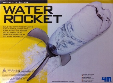picture of a water rocket