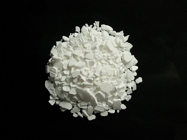 picture of solid calcium chloride