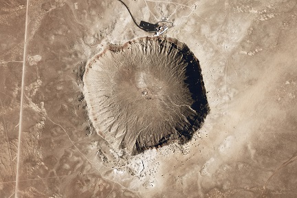 barringer crater picture