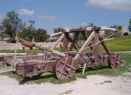 mangonel catapult picture