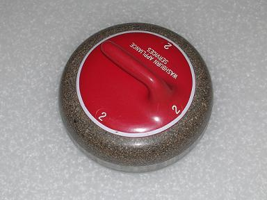 picture of curling stone