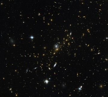 magnified distant universe picture