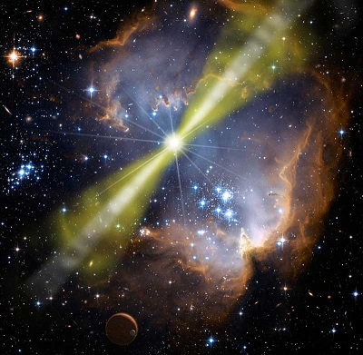 gamma ray burst