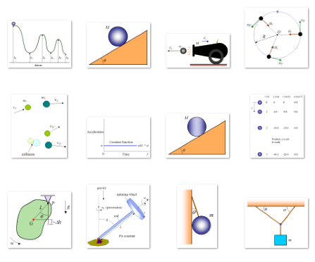 thumbnail view of kinematics and dynamics diagrams 1