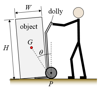 how to move heavy objects with dolly