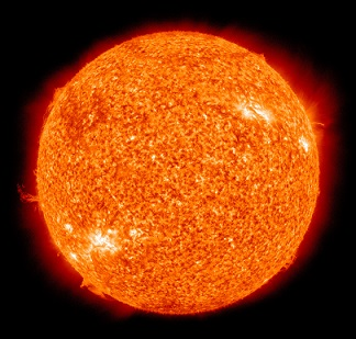 sun picture showing nuclear energy