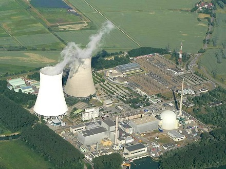 nuclear power generating station picture
