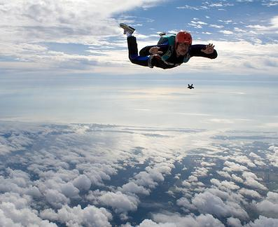 how does a parachute work physics