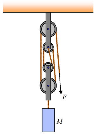 pulley problems figure 9