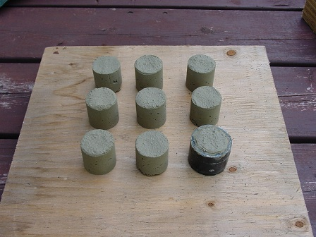 science fair project cement curing 1
