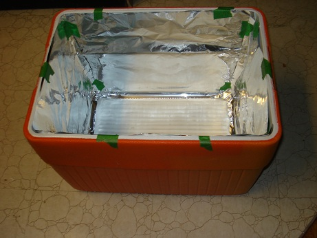 science fair project solar collector 1