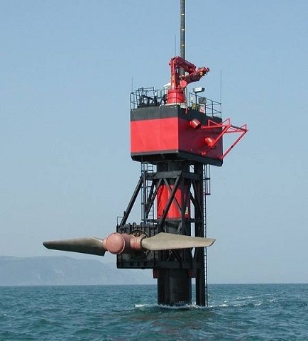 tidal power generating station picture